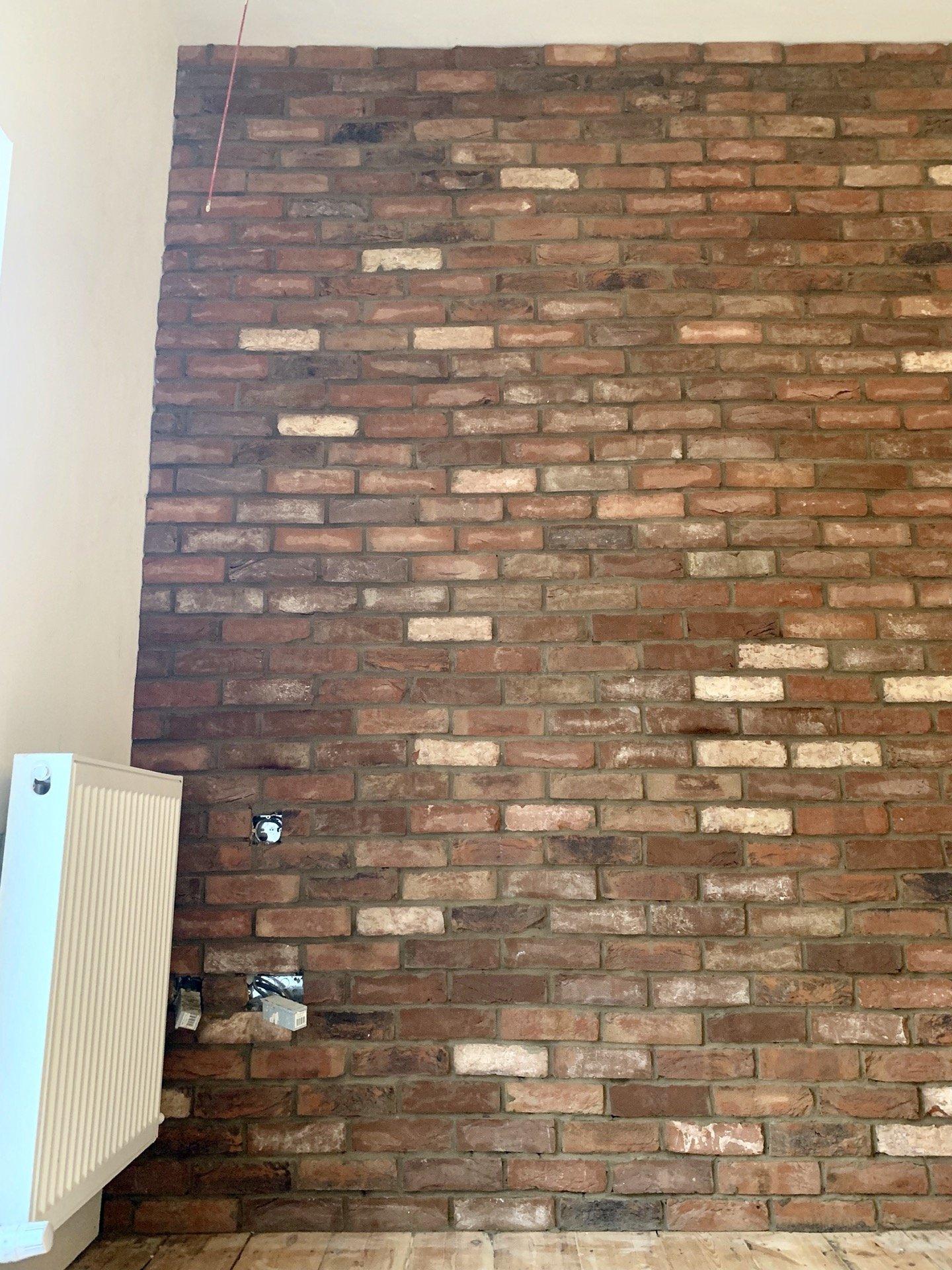 Tiled Slip Brickwall